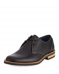 Original Penguin Wade Leather Lace Up Oxford Black