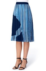 Catherine Malandrino Women's Francis Pleat A Line Skirt