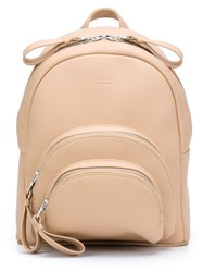 Valas Micro 'Rockfeller' Backpack Nude And Neutrals