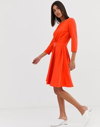 2Nd Day 2Ndday June Belted Swing Dress Red