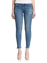Mcguire Newton Frayed Hem Skinny Jeans Girl Who