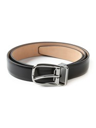 Dolce And Gabbana Classic Belt Black