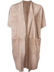 Salvatore Santoro Short Sleeve Jacket Nude And Neutrals