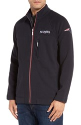 Tommy Bahama Men's 'Nfl Blindside' Knit Zip Jacket Patriots