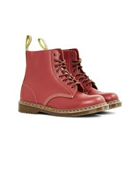 Dr Martens Made In England 1460 Vintage Boot Oxblood Red