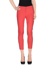 Ki6 Who Are You Trousers Casual Trousers Women Coral