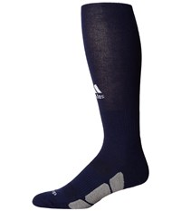 Adidas Utility Over The Calf Dark Blue White Light Onix Knee High Socks Shoes Black