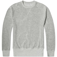 Our Legacy Reversed Sweater New Grey Heavy Terry Hair