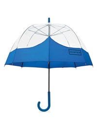 Hunter Original Mustache Bubble Umbrella Azure Blue