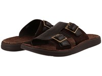 Ugg Kahne Chocolate Leather Men's Sandals Brown
