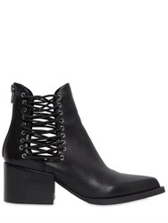 Windsor Smith 55Mm Edme Elastic And Leather Ankle Boots