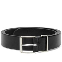 Andersons Anderson's Slim Leather Belt Black