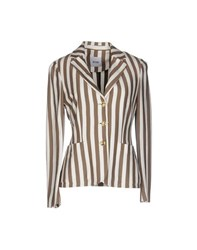 Moschino Cheap And Chic Moschino Cheapandchic Suits And Jackets Blazers Women Khaki