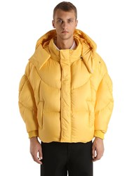 Chenpeng Oversized Hooded Puffer Down Jacket