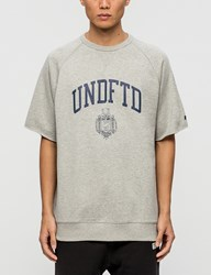 Undefeated College S S Crewneck Sweatshirt