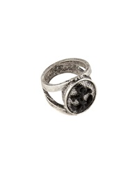 Icon Brand Ring With Anchor Insignia