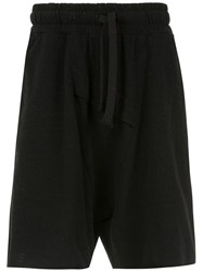 Osklen Shorts With Two Front Pockets Black