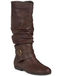 Seven Dials Diem Mid Shaft Slouchy Boots Women's Shoes Brown