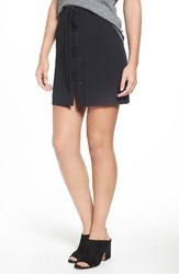 Madewell Women's Lace Up Skirt