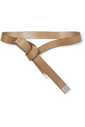 Marni Leather Wrap Belt Brown