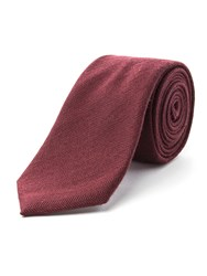 Racing Green Spencer Herringbone Tie Wine