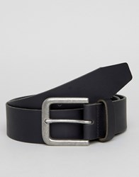 New Look Leather Jeans Belt In Black Black