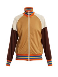 Guccify Yourself Print Jersey Track Top Brown Multi