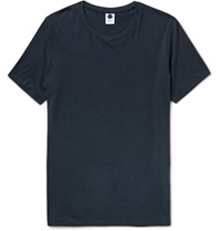 Nn.07 Pima Cotton Jersey T Shirt Blue