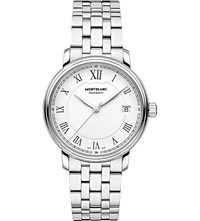 Montblanc 112632 Tradition Stainless Steel Watch White