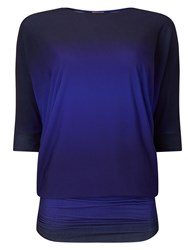 Phase Eight Ombre Beth Tunic Blue