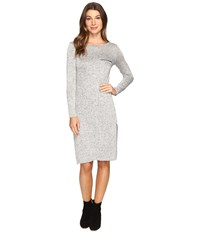 Culture Phit Angelina Knit Dress Heather Grey Women's Dress Gray