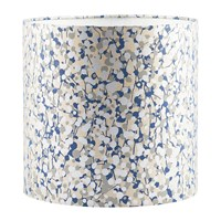 Clarissa Hulse Garland Lamp Shade Putty Midnight Silver Blue