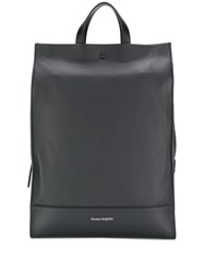 Alexander Mcqueen Tote Backpack Black