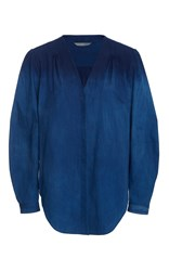 Maiyet Ellipse Sleeve Blouse Navy