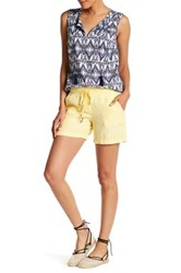 Tommy Bahama Two Palms Drawstring Linen Short Yellow