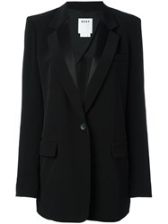 Dkny Single Button Blazer Black