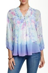 Casual Studio Pleated Blouse Blue