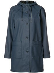 A.P.C. Hooded Parka Blue