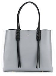 Lanvin The Shopper Small Tote Grey