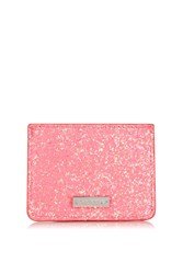 Topshop Electric Card Holder By Skinnydip Pink