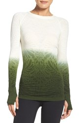 Climawear Women's See The Light Runner Tee Water Lily Olive