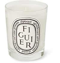 Diptyque Figuier Scented Candle 190G White