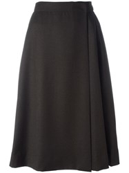 Each X Other Wrap Skirt Brown