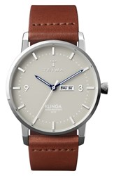 Triwa Mist Klinga Leather Strap Watch 38Mm