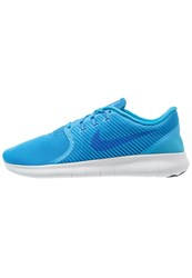 Nike Performance Free Run Commuter Trainers Blue Glow Hyper Cobalt Wolf Grey