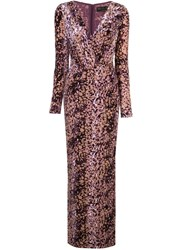 Rachel Zoe Speckled Print Gown 60