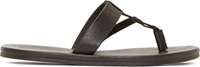 Lanvin Black T Strap Sandals