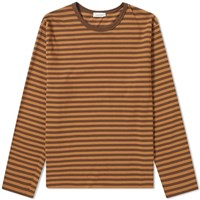 Nanamica Coolmax Long Sleeve St. Jersey Tee Brown