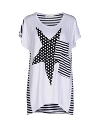 Giorgia And Johns Giorgia And Johns Topwear T Shirts Women White