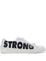 Escada Strong Printed Sneakers White